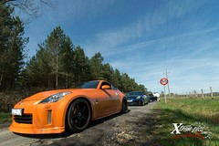 Crusing (latin_drumer) Tags: orange nissan350zcars
