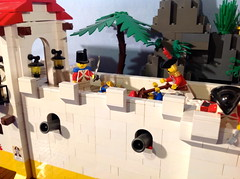 Hold the Line! (Kooberz) Tags: motion building brick cat ship lego fort colonial attack battle stop pirate captain animation minifig fortress epic minifigure kraken kooberz bricktube youtubecomkooberz