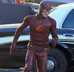 The Flash (Guardian Screen Images) Tags: show man crimson television speed scarlet comics book dc tv comic allen brothers grant spin flash fast books super off warner barry hero superhero cw series network alive bros fastest speedster spinoff the 2014 gustin