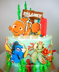 Nemo Cake (Cookievonster) Tags: nemo dory cookievonster