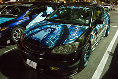 _MG_1619 (kyontheotakugamer) Tags: cars anime manga itasha mitsubishi fa1 em2 ua6 lancer civic accord accura tl tlx streetotakus heartofotakuculture blackrockshooter brs arsnova