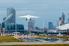 Cityjet - British Aerospace Avro RJ85 - EI-RJH  London City Airport (paulstevenchalmers) Tags: london londoncity airport lcy