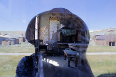 Inside-Outside in Bodie  (Explored) (cheryl strahl) Tags: california bodie bodiestatepark ghosttown abandoned history historic miningtown explore flickrexplore