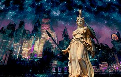 Look Out New York - Athena is in Town (Rusty Russ) Tags: athena nyc new york city party sky tall building skyscraper trouble photoshop flickr google bing daum yahoo image stumbleupon facebook getty national geographic magazine creative creativity montage composite manipulation color hue saturation flickrhivemind pinterest reddit flickriver pixelpeeper blog openuniversity flic twitter alpilo commons wiki wikimedia worldskills oceannetworks ilri comflight newsroom fiveprime photoscape winners all people young photographers paysage artistic photo pin stockpainterly paint brush painttexture tumblr style outside android colourful