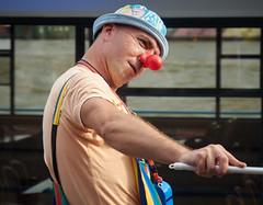 Clown Landungsbrücken (michaelbeyer_hh) Tags: clown portrait
