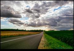 160713-9665-XM1.jpg (hopeless128) Tags: france eurotrip 2016 sunset road clouds bioussac aquitainelimousinpoitoucharen aquitainelimousinpoitoucharentes fr