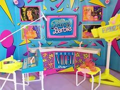 1988 BiBop Barbie Music Video Show Playset #8204 (The Barbie Room) Tags: 1988 bibop barbie music video show playset 8204 1980s 80s bibops sensations rockers rockstars rock concert mtv studio