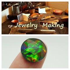 COMING SOON (The Ammolite) Tags: minerals fossil アンモライ stone ammolite ammonite triple gemstone jewelry jewellery