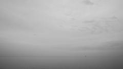 Markermeer from Volendam (Bob Brooijmans) Tags: blackandwhite sea landscapes volendam markermeer