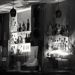 the empty bar (williamw60640) Tags: bar pub bottles alcohol drinks nightscape