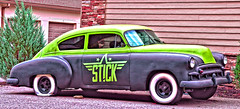 STICK (creepingvinesimages - mostly off while I relocate ) Tags: morgantown wv outdoors classiccars colorful nikon d7000 pse14 topaz
