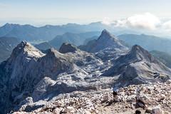 Climb to see the world (Marua erjal) Tags: 2016 julianalps julijci mountains slovenia slovenija triglavnationalpark triglav nature outdoors rocks peak panorama view hiking mountain plateau