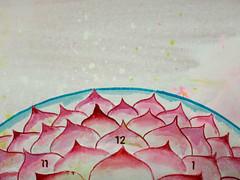 DSC096670 (scott_waterman) Tags: scottwaterman painting paper ink watercolor gouache lotus lotusflower detail pink