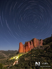 Riglos (Nikologia) Tags: riglos mallos circumpolar estrellas polar