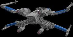 Resistance X-Wing 3.0: Back (picardsbricks) Tags: lego starwars resistance xwing t70 poedameron elloasty bb8 snapwexley theforceawakens vii