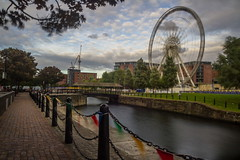 IMG_6374-Echo Wheel Liverpool (Reietto) Tags: canoneos7d tamronsp1750f28 2016 aonb beatles church churches cristiancarbini16 england englaterra fab4 fiume inghilterra lakes landascapes landscape liverpool lpl merseyriver sea uk uk2016 unesco architecture architettura building buildings chiesa panorama river