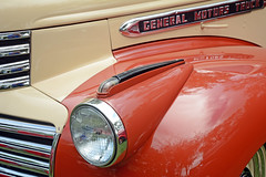 1941 General Motors Truck - Detail (Brad Harding Photography) Tags: 1941 41 gmc generalmotorscompany detail closeup headlight grille truck utility pickup olmaraisriverruncarshow ottawa kansas antique