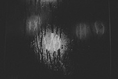 Condensation (Daniel A Ruiz) Tags: project365 humid humidity dew water blackandwhite bokeh lights shadows