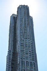 Gehry in NYC (pjpink) Tags: architecture frankgehry gehry skyscraper building undulating manhattan nyc newyork newyorkcity ny urban city june 2016 summer pjpink