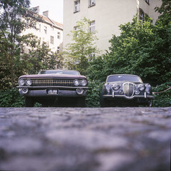 Berlin, Germany. (wojszyca) Tags: wzfo start 66 6x6 120 mediumformat tlr kodak ektachrome e100g gossen lunaprosbc epson 4990 car cars classic berlin