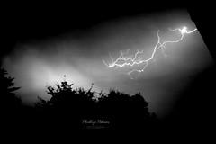 Lighting the Night Sky (Phillip Palmer) Tags: lighting lightening sky night nightphotography trees strorm canon 6d uk sussex england