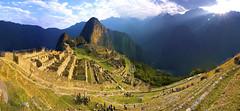 Machu Picchu Morning (light detail) Tags: machupicchu peru explore exploremore first light firstlight peruviansunrise sunrise landscape 7wondersofworld aguascalientes cusco cuzco terracing machu picchu