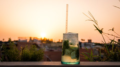 Best Mojito Ever Dude! :) (Stupeflipvite) Tags: thirsty mojito sun light color sky roof rooftops glass straw liquid rhum water fresh hot cool sunset view photo picture shot lemon minth cold ice drop green catchy wonderful pub bar beautiful soif marrakech morocco trip canon 70d eos sigma soleil lumire couleur ciel toit verre glaon paille liquide eau froid chaud coucher vue citron menthe beau panorama voyage maroc