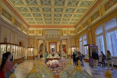 Hermitage Museum (yuanxizhou) Tags: colors beautiful tourist europe stpetersburg russia travelphotos travel photography design awesome elegant royal details architecture culture historical museum hermitage