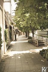 A nice little street, made to look a little older. (ZKent.Yousif) Tags: chiyodaku tkyto japan jp  chku  minatoku canon sigma sigma1750mm 50mm streetphotography street architecture