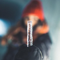 Time flavored glacier popsicle  w/ Lisa Homsy for Pangea Dreams (bastihansen) Tags: tel aviv israel motion pictures photography inspiration basti hansen bastian kln cologne germany