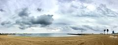 """""""Después de la tormenta"""" (atempviatja) Tags: barcelona playasomorrostro nubes tormenta cielo mar playa"""
