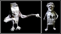 Heartless vs Brainless :P (ORIGAMI) (Neelesh K) Tags: origami heartless brainless fun boxpleating neelesh k