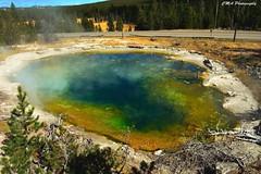(calemarie137) Tags: minerals rainbowwater hotpots hotspring yellowstonenationalpark yellowstone