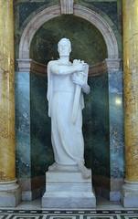 Князь Коцел. Памятник в парламенте Сербии
