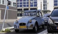 Citron 2CV 1986 (XBXG) Tags: pp41fh citron 2cv 1986 citron2cv 2cv6 2pk eend geit deuche deudeuche amsterdam sloterdijk nederland holland netherlands paysbas vintage old classic french car auto automobile voiture ancienne franaise france frankrijk