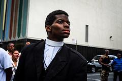 DSCF8764 (john fullard) Tags: harlem nyc newyork urban city candid manhattan africanamericandayparade priest color colour fujixpro1 collar street 2016 september
