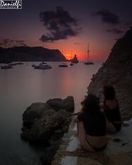 Benirrs sunset 2 (danielfi) Tags: benirrs ibiza eivissa sunset ocaso puesta sol costa coast mar sea paisaje landscape ngc atardecer aire libre de