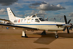 159 (GH@BHD) Tags: 159 abu socata tbm tbm700 frenchairforce frencharmy riat riat2007 royalinternationalairtattoo raffairford fairford turboprop executive corporate aircraft aviation military