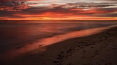 Couleurs du soir (liofoto) Tags: canon eos6d canon24105l couchédesoleil sunrise mer sea ocean atlantique îledoléron plage beach poselongue longexposure nuages clouds ciel sky