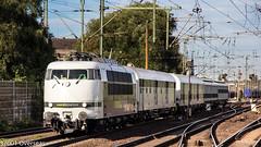 Railadventure 103 222 on DbZ 24454 to Magdeburg at Hannover Linden (37001 overseas) Tags: hannover linden railadventure 103222 dbz24454 dbz 24454 magdeburg