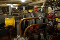 Lightship Hydraulics, Boston MA (Boston Runner) Tags: lightship nantucket lv112 boston harbor massachusetts 1936 shipyard marina eastboston museum preserved interior anchor hydraulics transmission power equipment