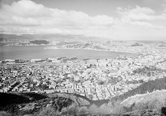 17; Elevated view of Thorndon and Lambton - Circa 1932 (Wellington City Council) Tags: wellington historicwellington 1800s 1900s 1950s