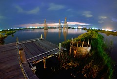 Chenlong wetland  (Vincent_Ting) Tags:     senset   reflection  clouds  firethesky  taiwan vincentting water  artofdecoration