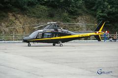 G-MEAN Agusta A109A (Gary J Morris) Tags: 060892 06081992 castle air liskeard gmean agusta a109a heliport