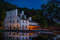 After Dark at C&O Canal's Great Falls Tavern by Dave Lyons (AccessDNR) Tags: 2016 photocontest fall autumn scenery sceniclandscape cocanal greatfallstavern potomacriver