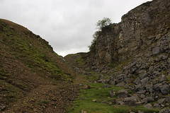 lownathwaite hushes (kokoschka's doll) Tags: hush workings scree crag boulders gunnerside pennines