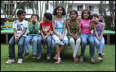 Gang of seven (Nagarjun) Tags: bangalore ruchi kaushal vedant anindita ipsita malathi sowmya murli casaansal
