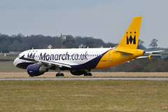 Monarch Airlines G-OZBX (Howard_Pulling) Tags: easter march nikon aircraft bedfordshire monarch airbus airlines luton airliners a320 lutonairport eastersunday airbusa320 monarchairlines 2013 londonluton hpulling howardpulling d5100 nikond5100 gozbx