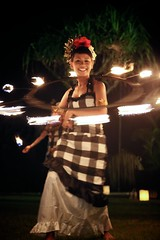 Fire Hula (brianfarrell) Tags: ocean sea bali indonesia relax march surf peace lot wave serene relaxed tranquil tanahlot tanah 2013