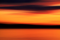 Only For A Moment (michaelwr) Tags: sunset foothills motion blur water clouds handheld orangesky pugetsound redsky goldenlight alkipoint nofilters minimalpostprocessing intentionalcameramovement michaelrollins